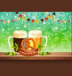 beer realistic vector image