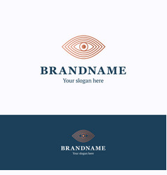 Brand name logo vector