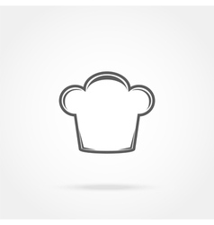 cap chef icon vector image