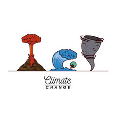 Effects of climate change vector