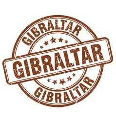 Gibraltar stamp vector