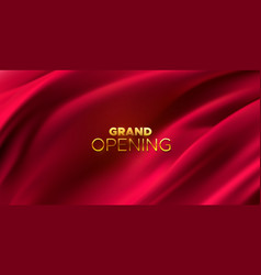 Grand opening business startup open ceremony vector