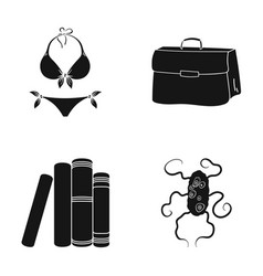 Medicine textiles accessoriesand other web icon vector