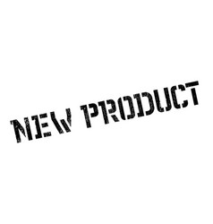 new product rubber stamp vector image