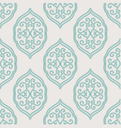 Stylish arabic seamless pattern vector
