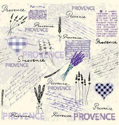 Vintage grunge pattern in retro scrapbook style vector