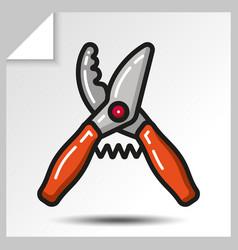 gardening tools 10 vector image