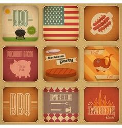 Barbecue Menu vector image