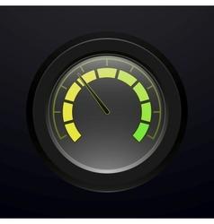 Digital tachometer vector image