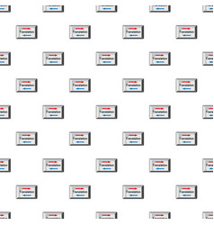 translate button pattern vector image vector image