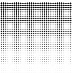 Absract halftone geometric background vector