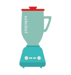 blender appliance kitchen isolated vector image