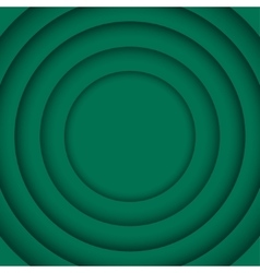 Concentric Green 6 Circle Green Background vector image