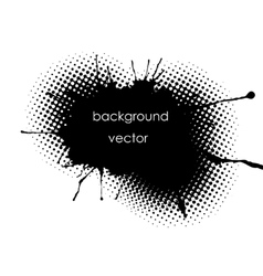 grunge spot background for inscriptions vector image vector image