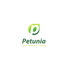 Letter P logo Template for your company vector