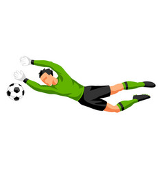 Soccer player with ball sports football vector