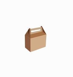 Take away box vector