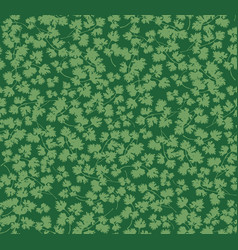 tropcal leaves seamless pattern beautiful floral vector image