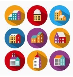 Urban icons vector