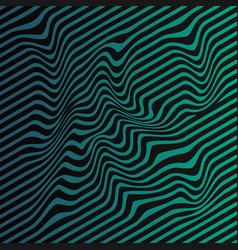Wavy stripes background stripe pattern vector