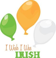 Wish I Was Irish vector