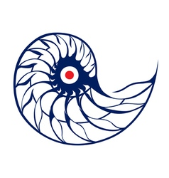 spiral helix vector image