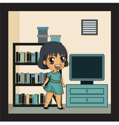 book Room vector image