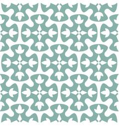 blue seamless geometric oriental style vector image