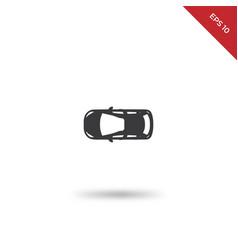 car top icon vector image