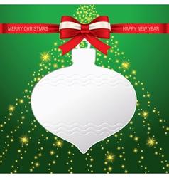 Christmas card 02 vector image