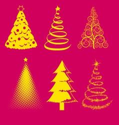 Christmas tree 4 vector