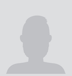 default avatar photo placeholder profile image vector image