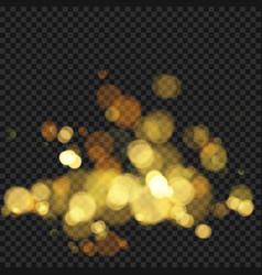 festive background with defocused lights effect vector image