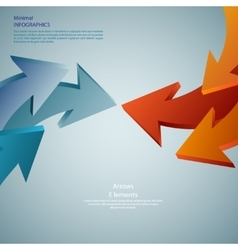 info graphic arrows Detailed can be used for vector image