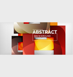 square background abstract squares on grey vector image