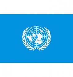 un flag vector image vector image