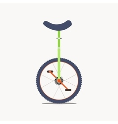 Unicycle icon vector image