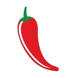 chili pepper vegetable icon vector image