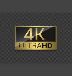4k tv screen vector