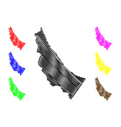 Al batinah north governorate sultanate oman vector