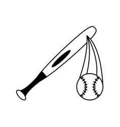 Baseball ball icon image vector