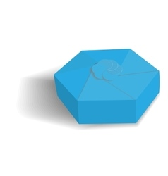 box for gift vector image