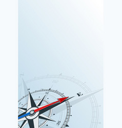 Compass east background vector