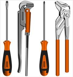 Locksmith tools vector