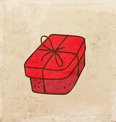 Present Cartoon vector image