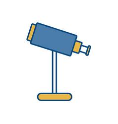 Telescope icon imag vector