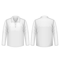 White shirt vector