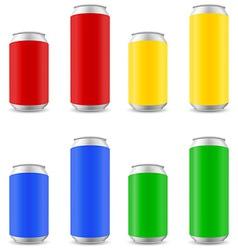 Can of beer 06 vector