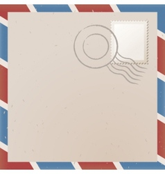 old letter vector image