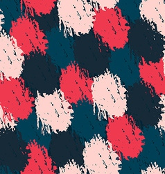 seamless pattern with paint effect vector image
